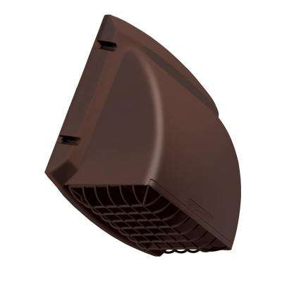 4 in. x 5 in. ProMax Wide Mouth Exhaust Cap - Brown
