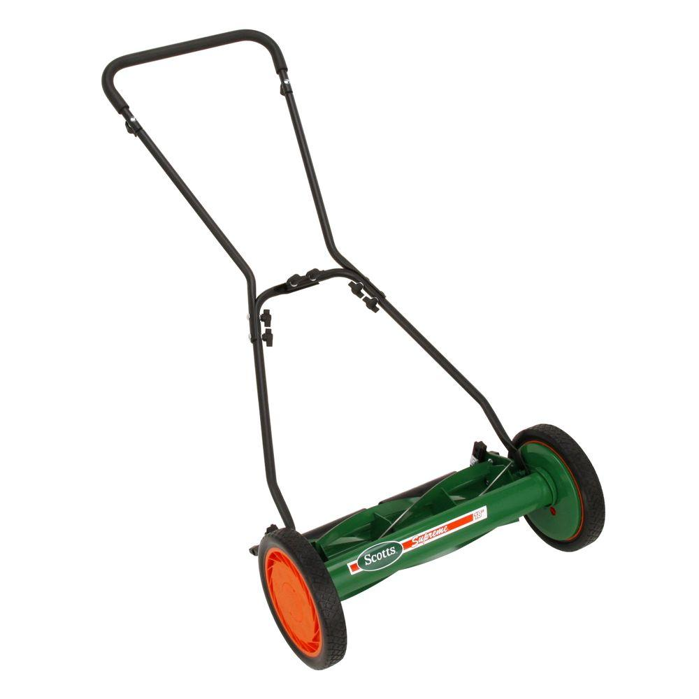 Scotts 18 in. Deluxe Reel Mower Nonelectric