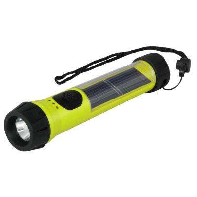 Solar Flashlight - Hi-Vis Yellow