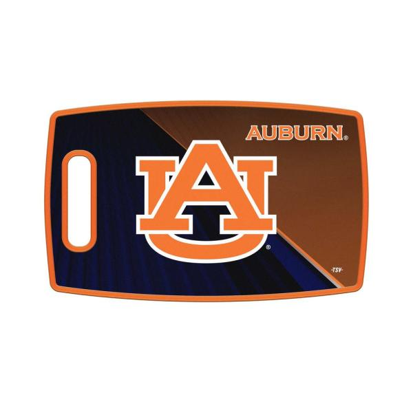 Auburn Tigers Large Plastic Cutting Board