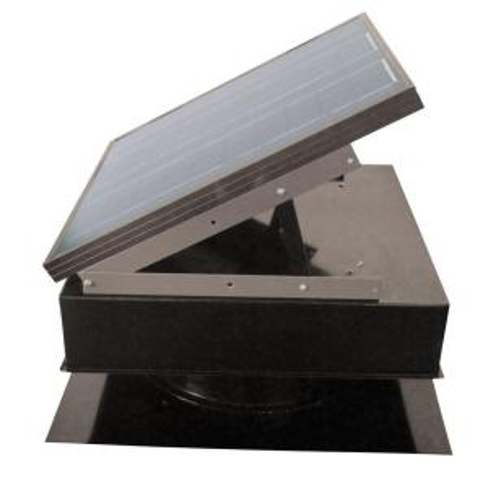 Remington Solar 25-Watt 1420 CFM Gray Solar Powered Attic Fan by Remington Solar