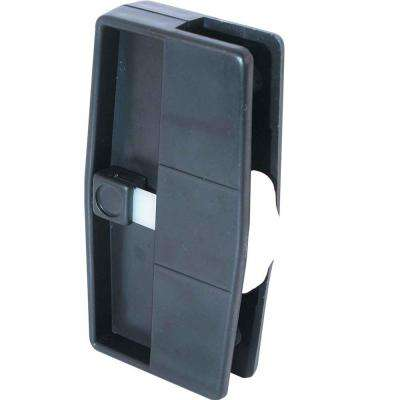 Plastic Sliding Screen Door Latch and Pull with Security Lock