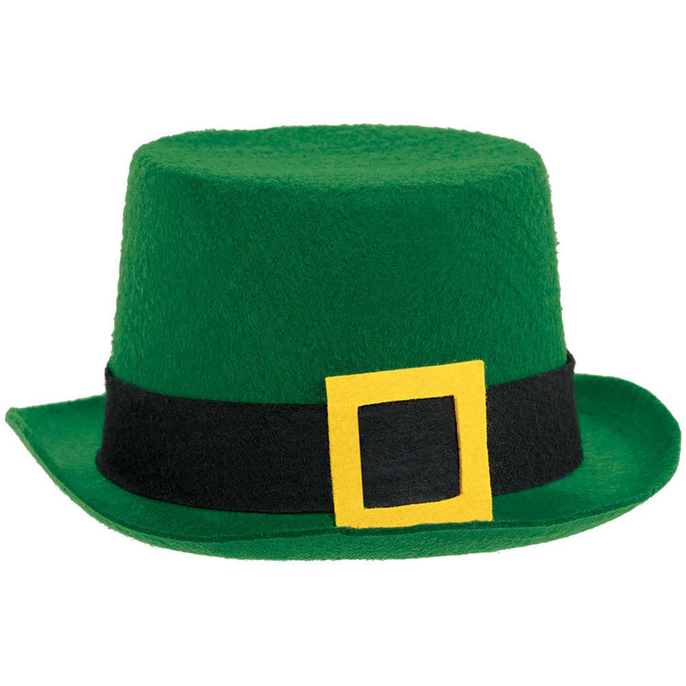 Amscan Green Felt St. Patrick s Day Top Hat (3-Pack)-395376 - The ... 3d5aae3ce2c6