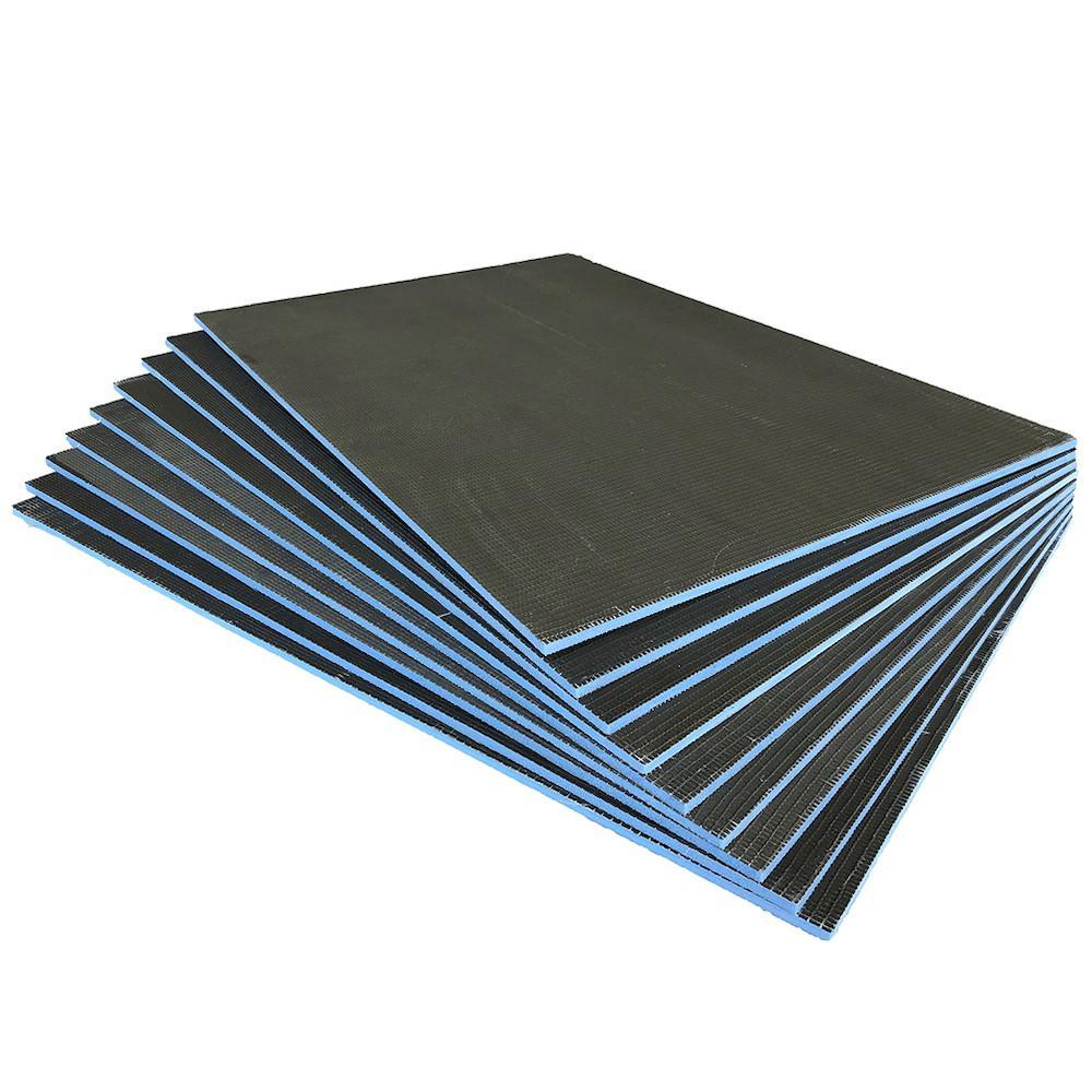 Durabase XPS 32 in. x 48 in. x 1/2 in. Foam Backer Board Underlayment (Package of 9 - 96 sq. ft.)