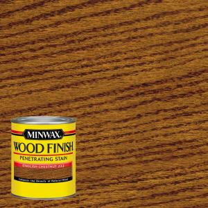 1 qt. Wood Finish English Chestnut Oil Based Interior Stain