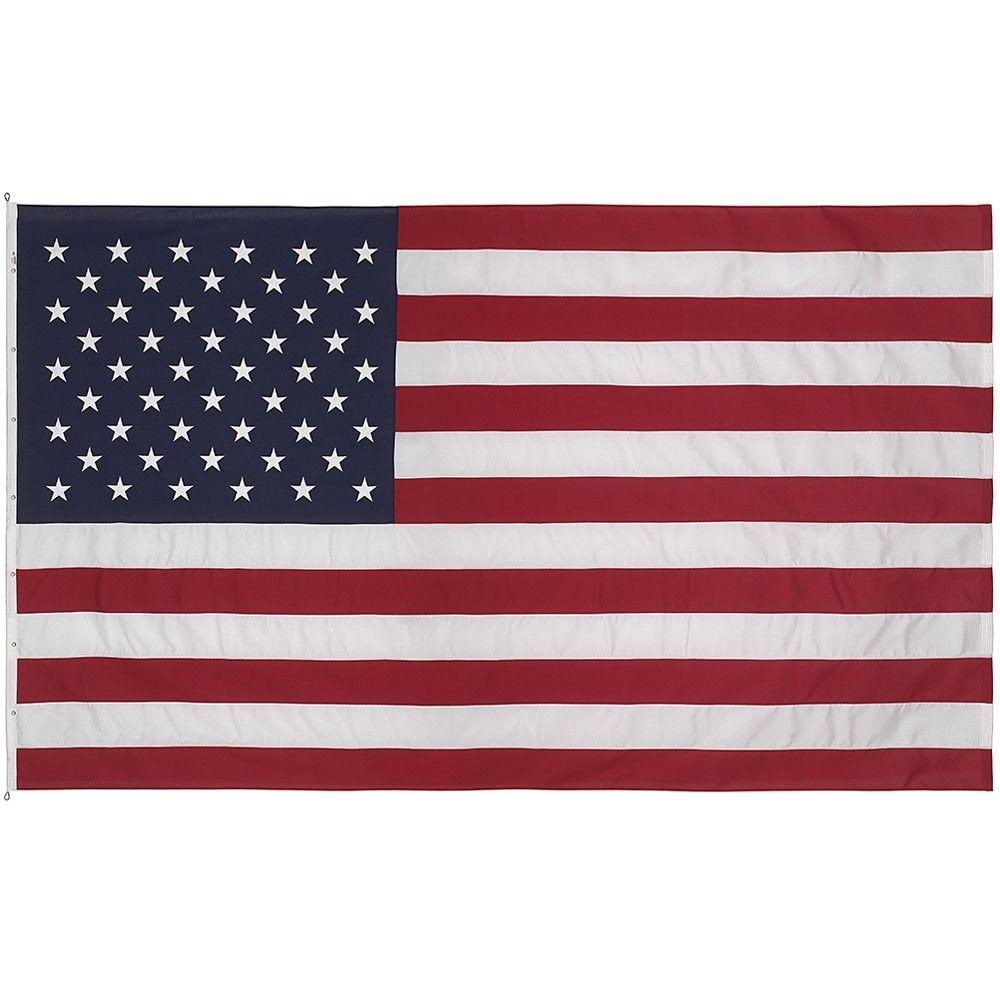 Valley Forge Flag 30 Ft X 50 Ft Polyester U S Flag 50321000ii
