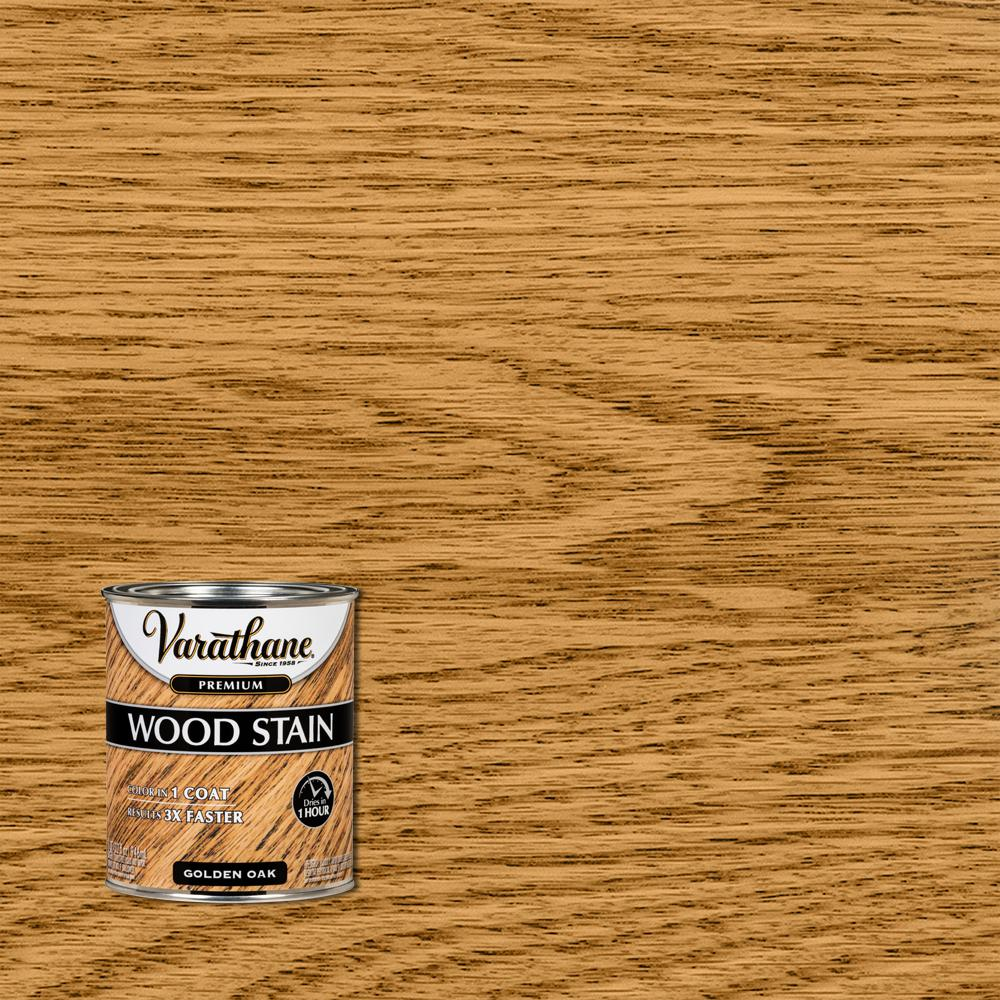 Varathane 1 qt. Golden Oak Premium Fast Dry Interior Wood Stain (2-Pack)