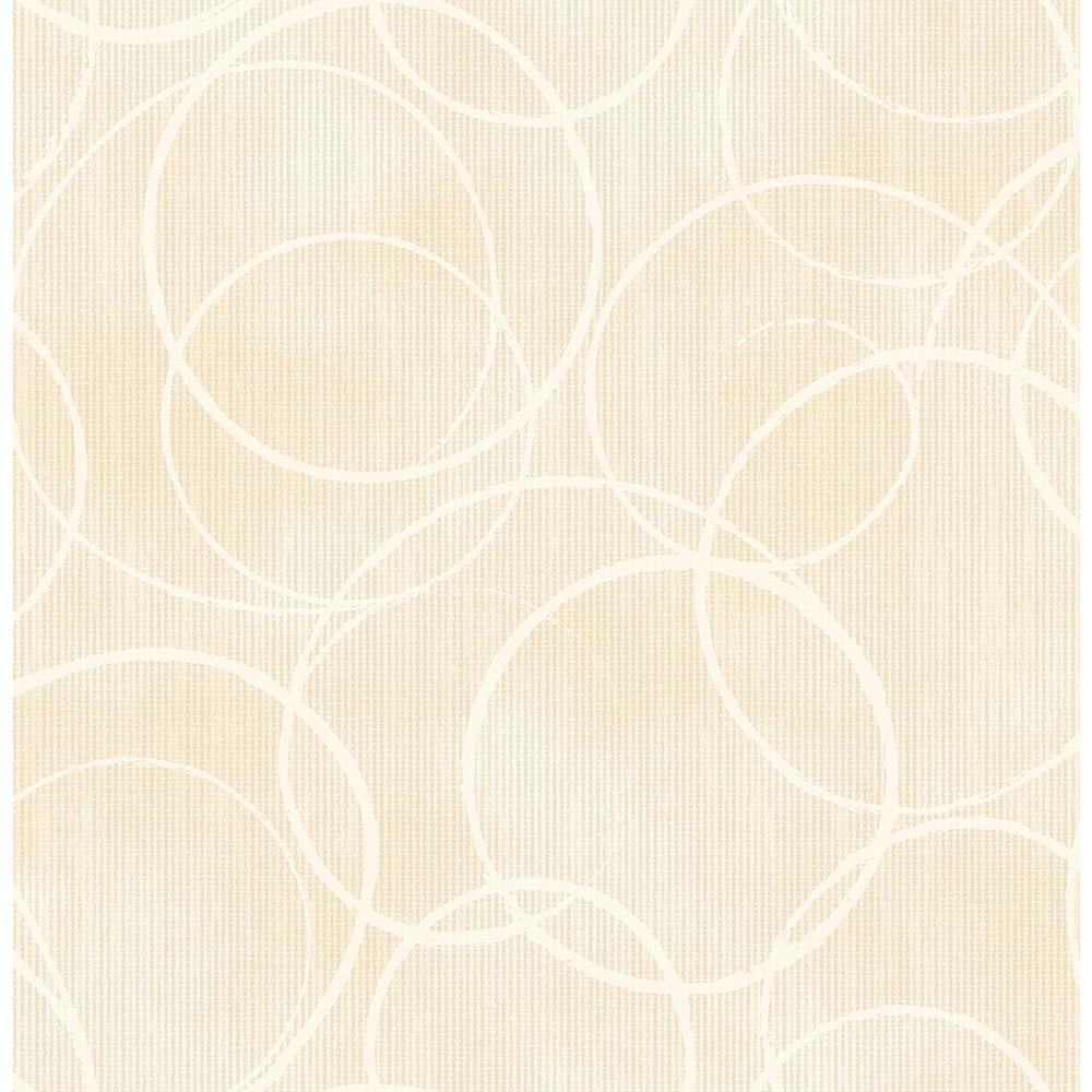 Brewster Schewe Beige Geometric Wallpaper 2686-001942