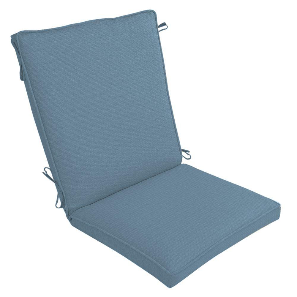 Arden Malta Peacock Single Welt Outdoor Chair Cushion-DISCONTINUED