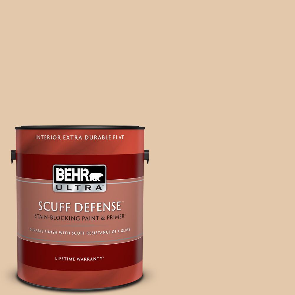 Behr Ultra 1 Gal Mq2 45 Craft Juggler Extra Durable Flat Interior Paint Primer 172401 The Home Depot