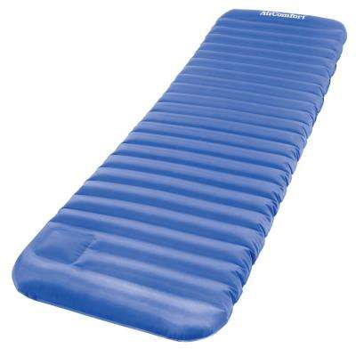 Roll & Go Inflatable Sleeping Pad - Large (Blue)