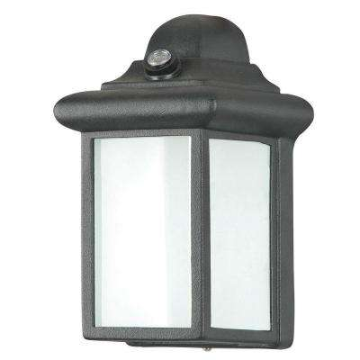 Hinkson 1-Light Black Outdoor Wall Lantern
