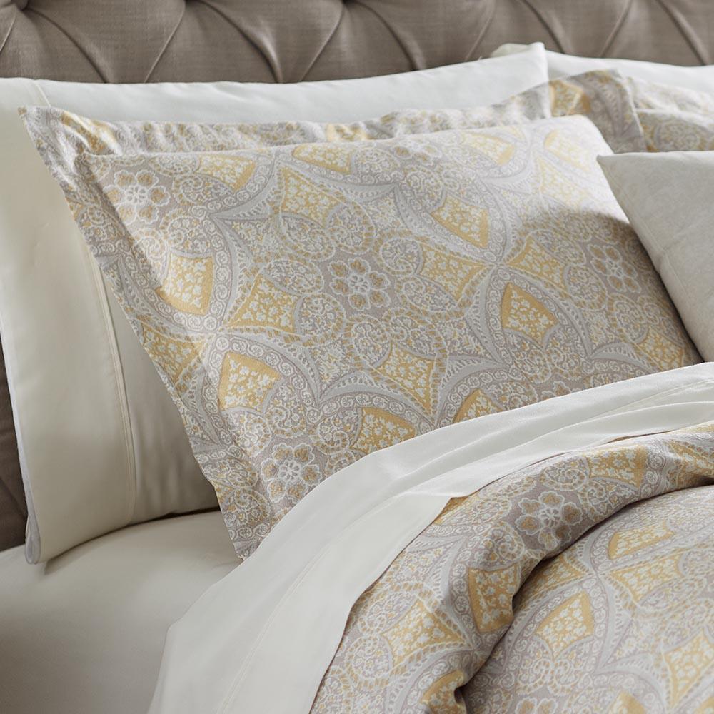 Alfresco Maize Cotton Standard Pillow Sham