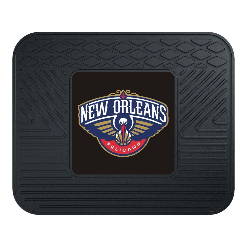 Fanmats new orleans hornets 14 in x 17 in utility mat for Floor depot new orleans