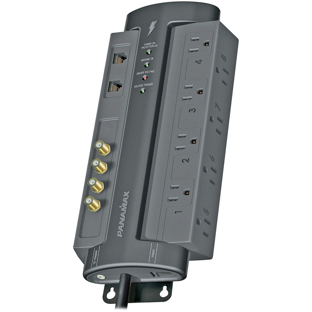 Panamax 8-Outlet Max with Satellite and Coaxial Protection-DISCONTINUED