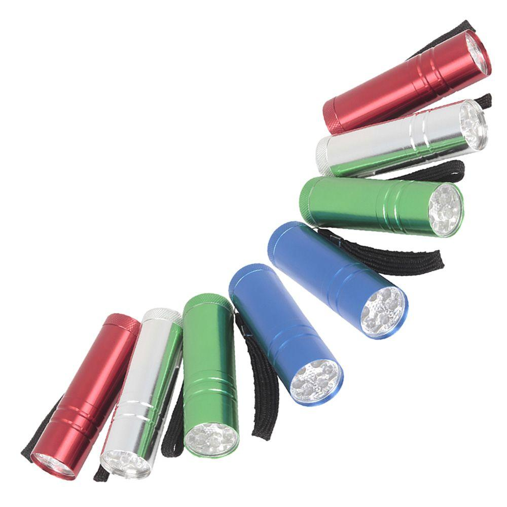 Defiant LED Aluminum Flashlight Combo (8-Pack)