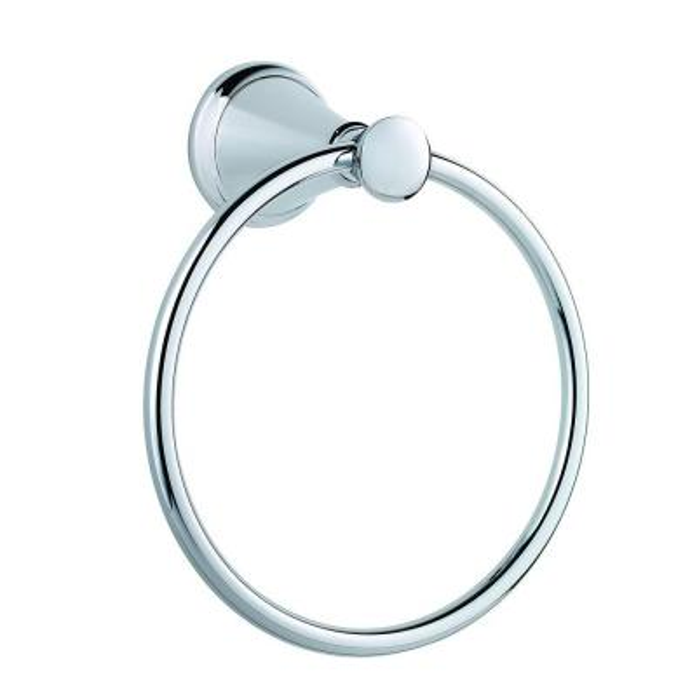 Pasadena Towel Ring in Polished Chrome