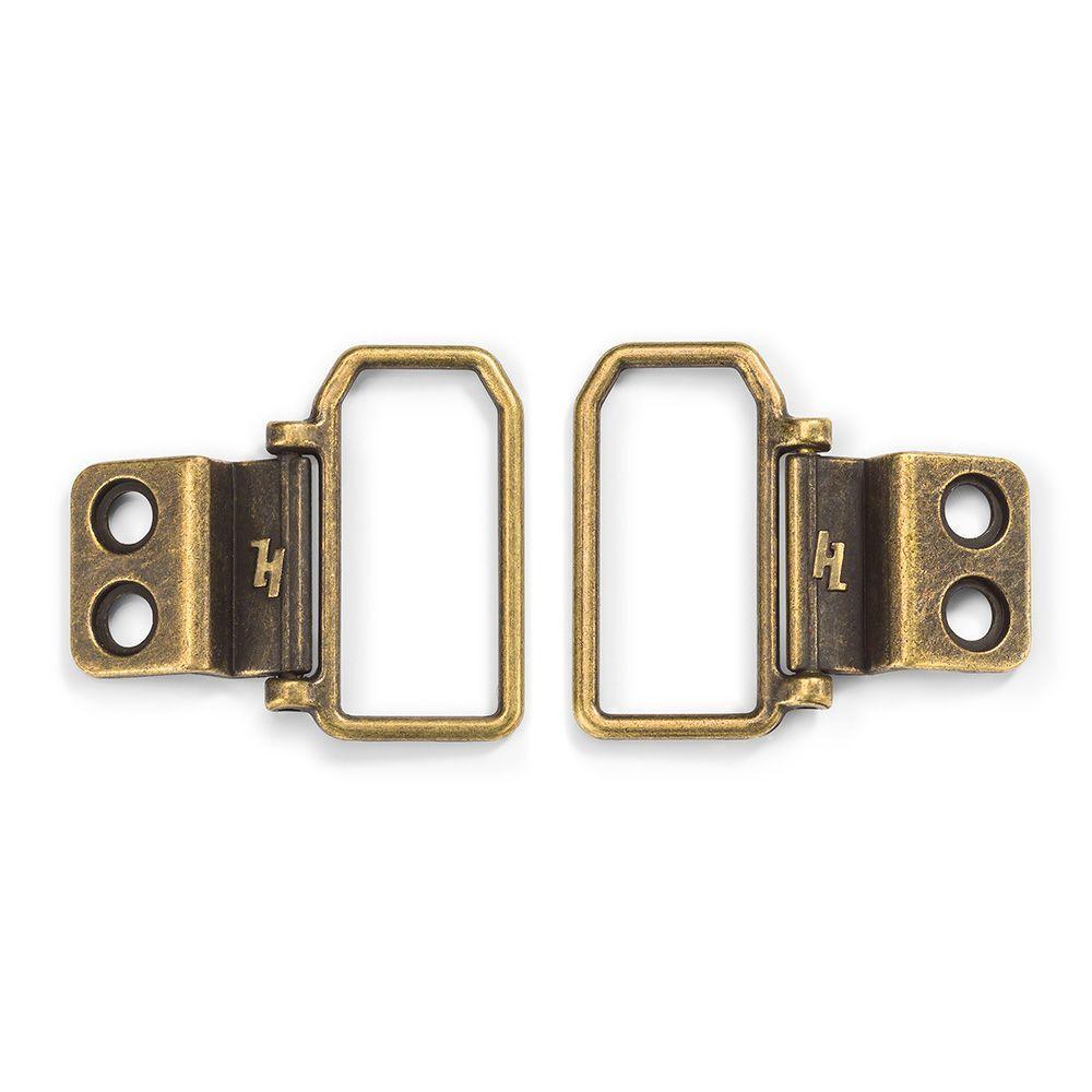 HangZ 50 lb. 2 Hole D Ring Canvas Hanger (8-Pack)