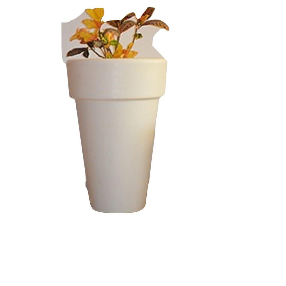 23.5 in. SlimLine Plastic Planter