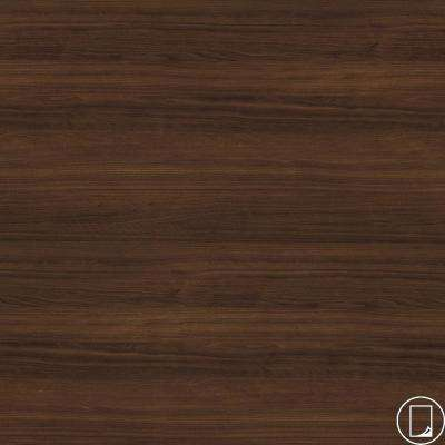 4 ft. x 8 ft. Laminate Sheet in RE-COVER Columbian Walnut with Premium Textured Gloss Finish