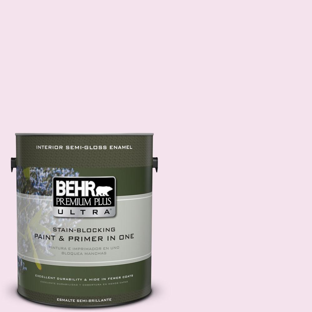 BEHR Premium Plus Ultra 1-gal. #690A-1 Zephyr Semi-Gloss Enamel Interior Paint