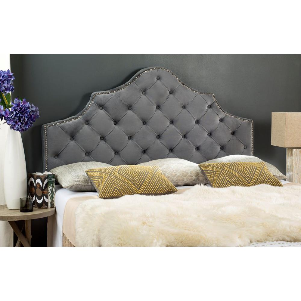 Safavieh Arebelle Pewter Full Headboard