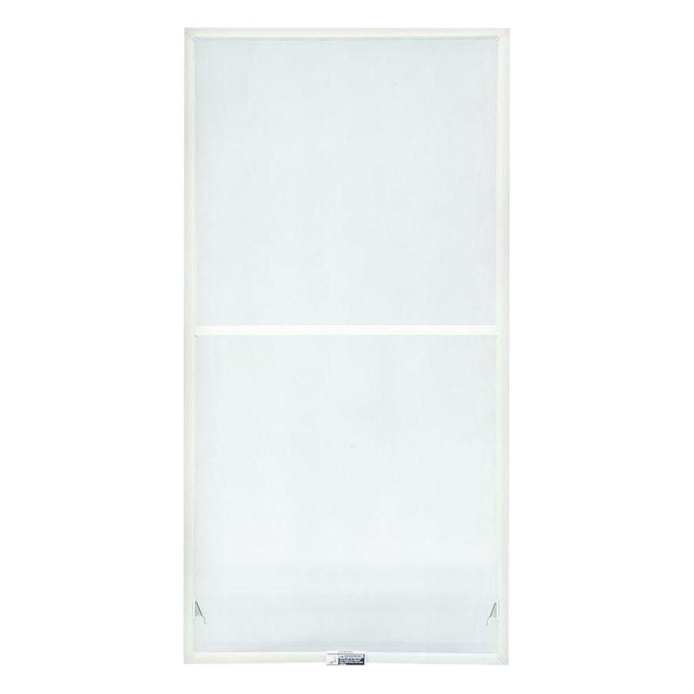 Andersen TruScene 19-7/8 in. x 34-27/32 in. White Aluminum Double-Hung Insect Screen