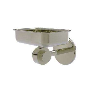 Satellite Orbit 2-Collection Wall Mounted Soap Dish in Polished Nickel