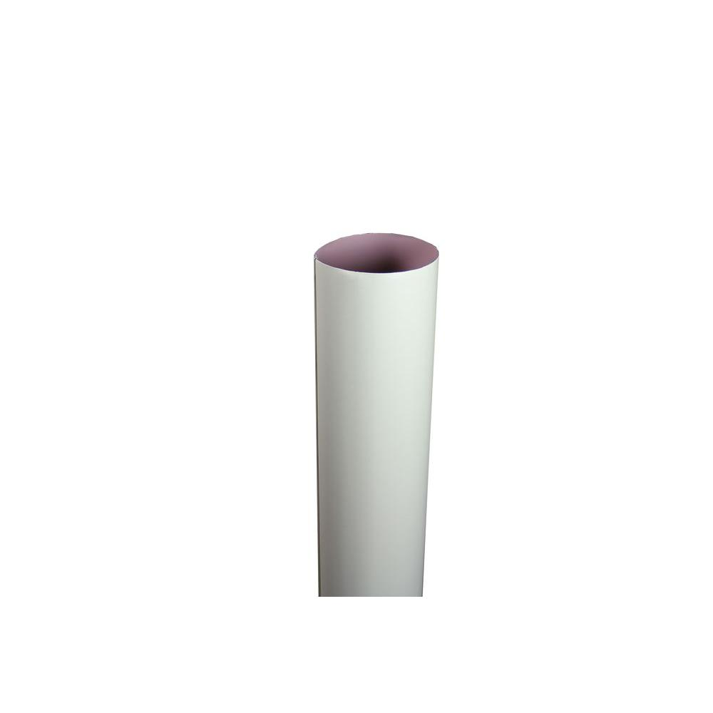 4 in. x 10 ft. Round Cream Downpipe