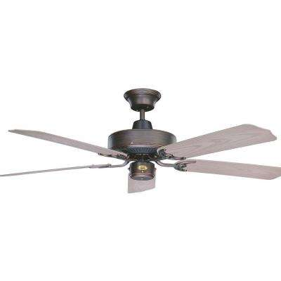 Cape North 52 in. Oil Rubbed Bronze Ceiling Fan with 5 Blades