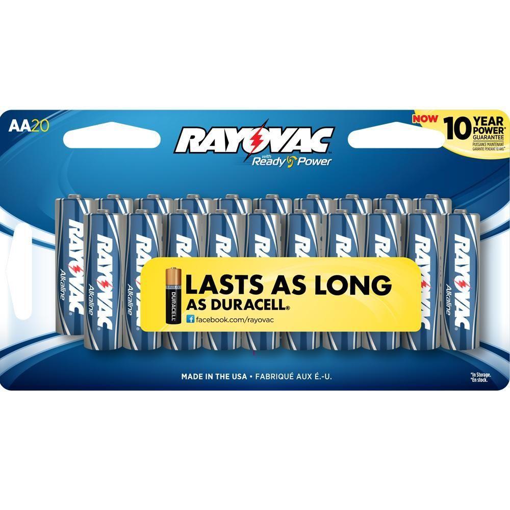 AA 20 Alkaline Pack