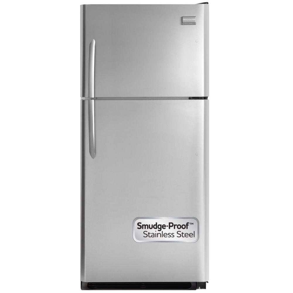 Frigidaire Gallery 21 cu. ft. Top Freezer Refrigerator in Stainless Steel