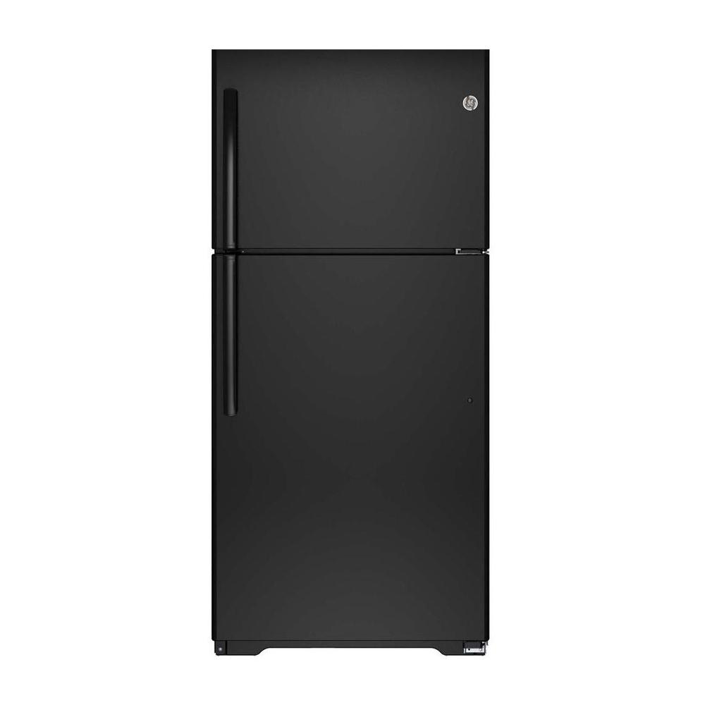 18.2 cu. ft. Top Freezer Refrigerator in Black