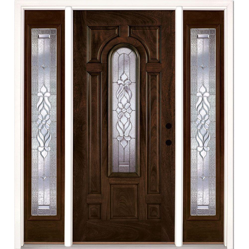 Exterior Doors For Home: Feather River Doors 63.5 In. X 81.625 In. Lakewood Zinc