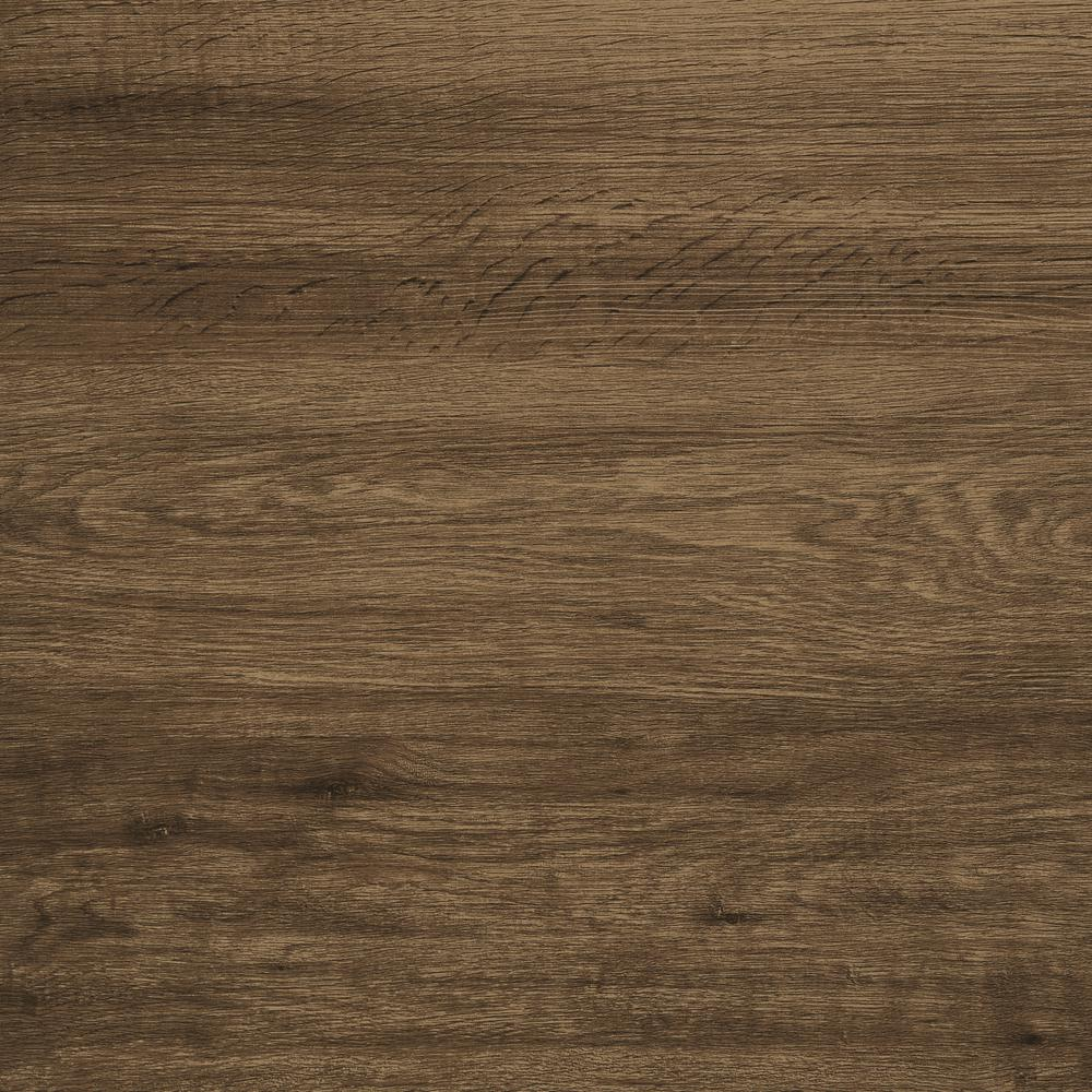 Trail Oak Brown 8 in. x 48 in. Luxury Vinyl Plank