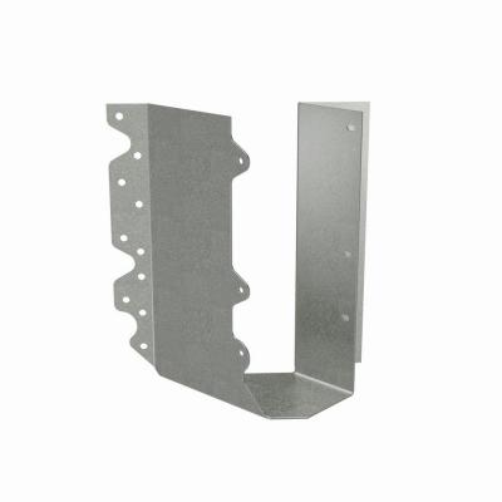 HSUR Galvanized Joist Hanger for Double 2x10 Nominal Lumber, Skewed Right