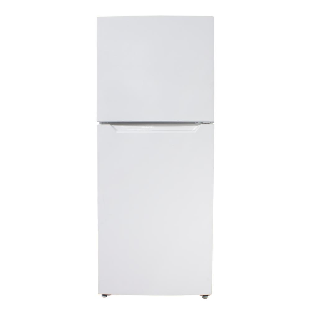Danby 11.6 cu. ft. Built-in Top Freezer Refrigerator in White, Counter Depth