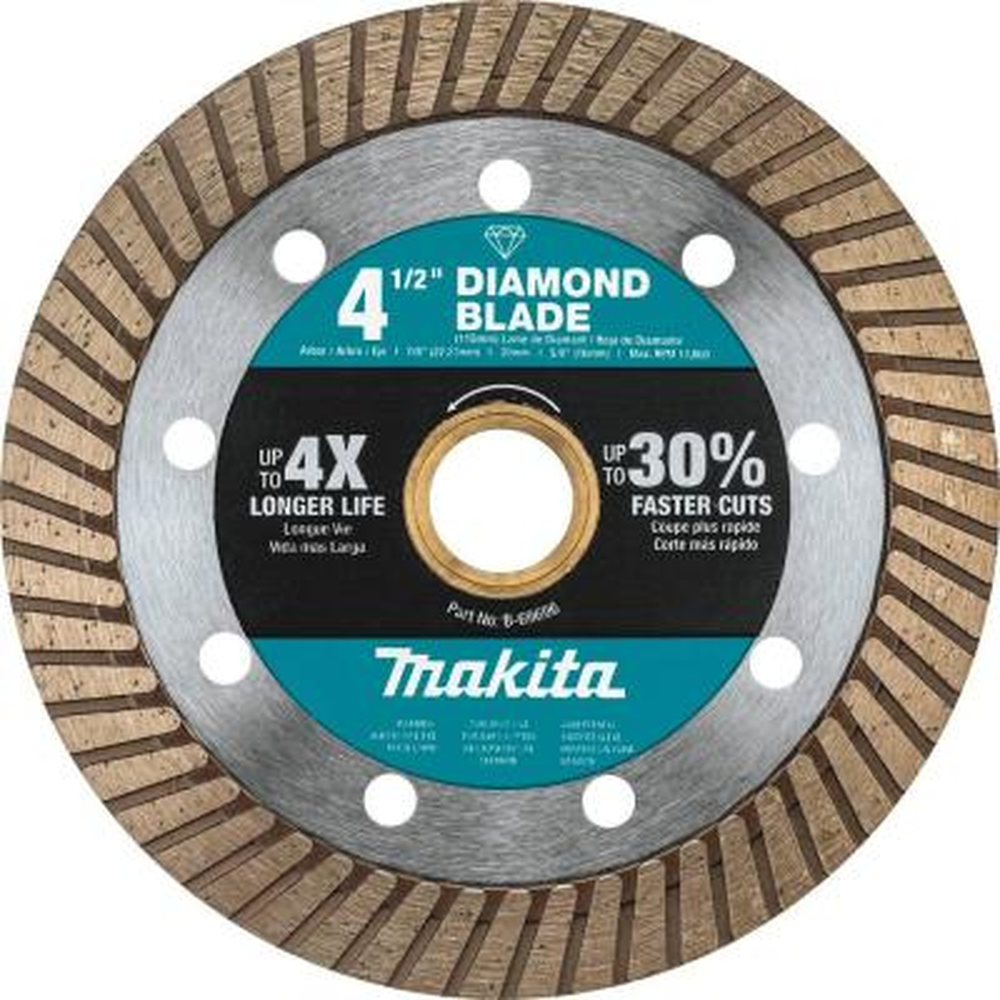 4.5 in. Turbo Rim Diamond Blade for General Purpose