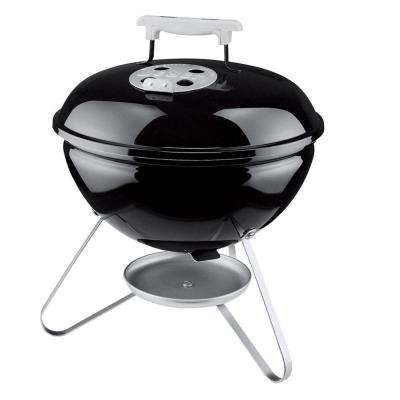 Smokey Joe Portable Charcoal Grill in Black