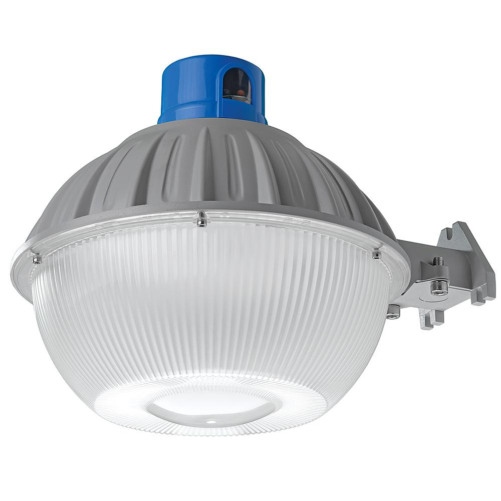 High Output Dusk to Dawn Grey Outdoor Integrated LED Area Light