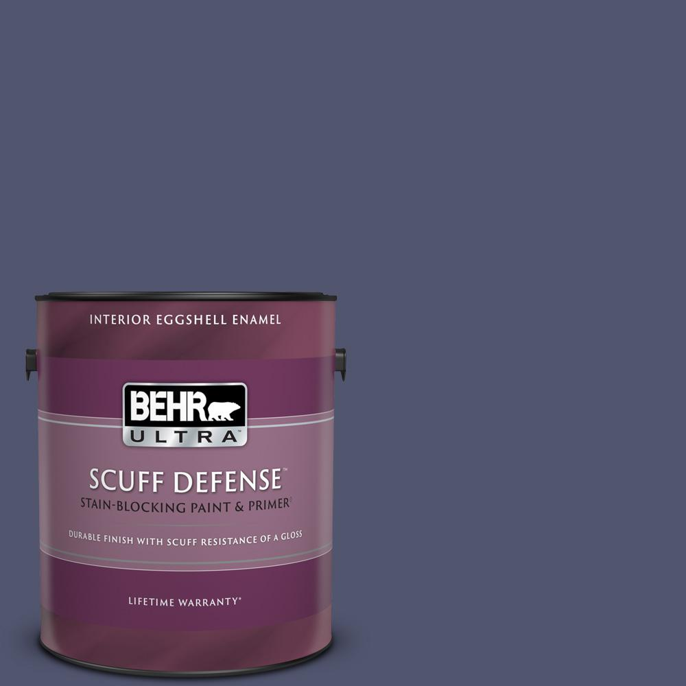 Behr Ultra 1 Gal S540 7 Bossa Nova Extra Durable Eggshell Enamel Interior Paint And Primer In One 275301 The Home Depot