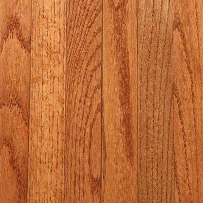 Take Home Sample - Gunstock Oak Solid Hardwood Flooring - 5 in. x 7 in.