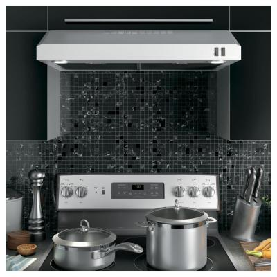 30 in. Under the Cabinet Convertible Range Hood in Stainless Steel, ENERGY STAR