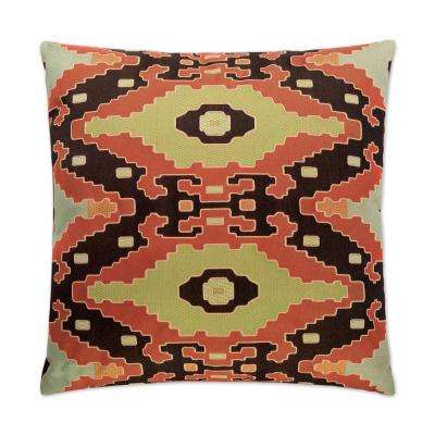 Salvador Feather Down 24 in. x 24 in. Standard Decorative Throw Pillow