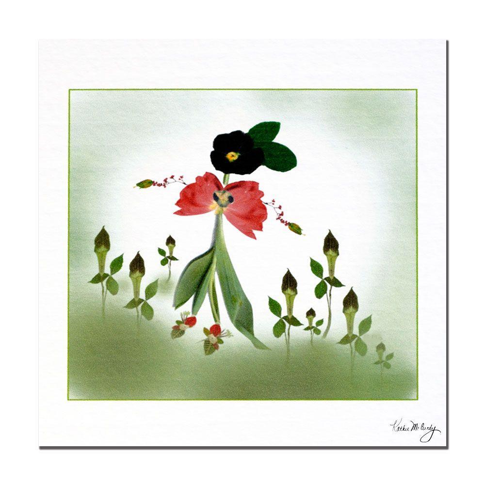 Trademark Fine Art 24 in. x 24 in. Happy Fairy Canvas Art