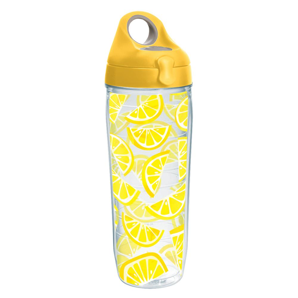 Tervis Lemon Trend 24 oz.Water Bottle-1243345 - The Home Depot