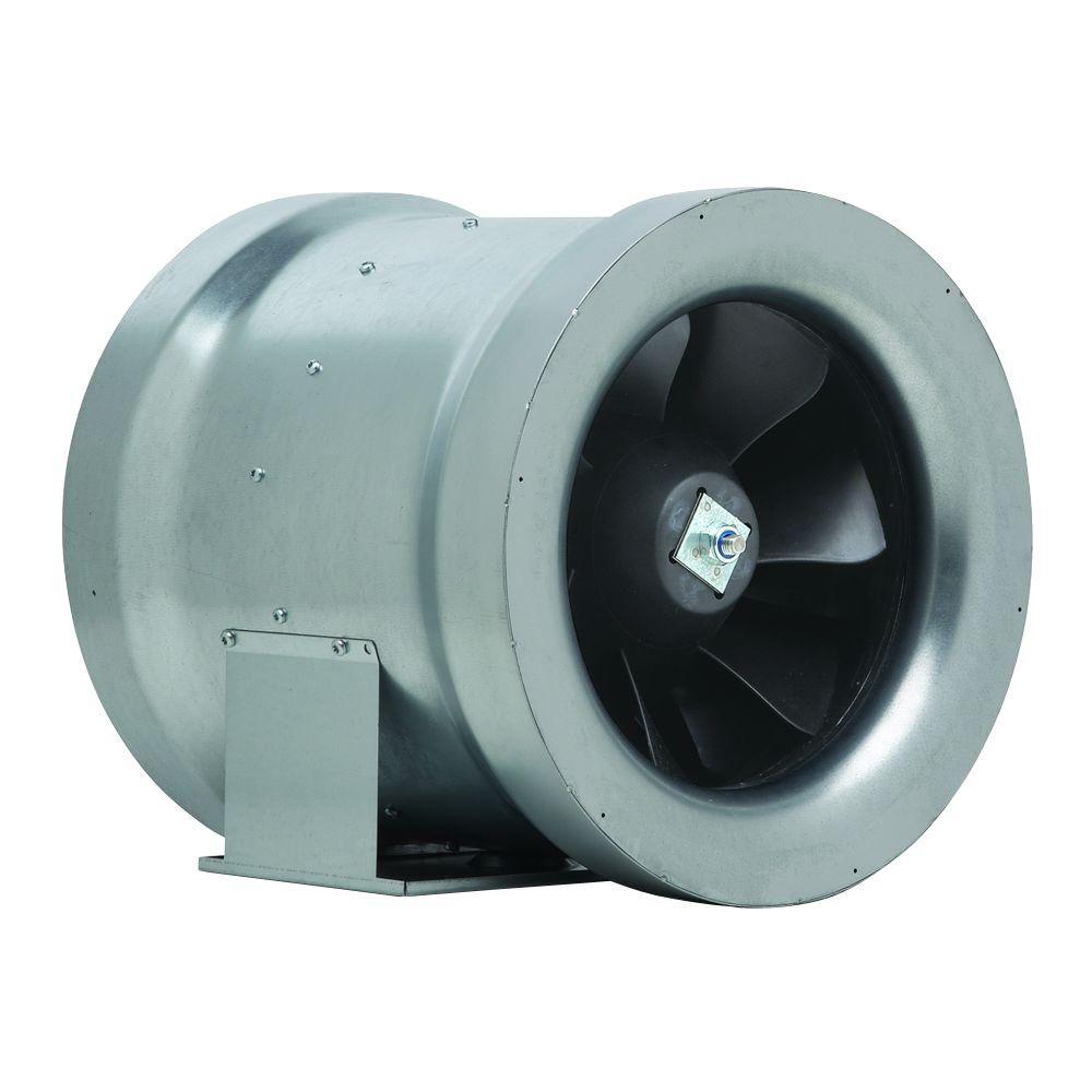 12 in. 1708 CFM Ceiling or Wall Bathroom Exhaust Fan