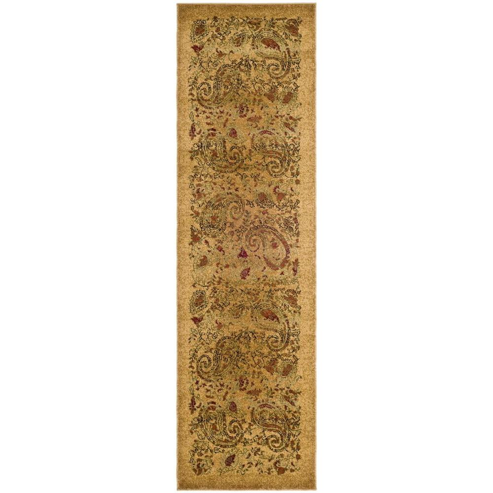 Lyndhurst Beige/Multi 2 ft. 3 in. x 8 ft. Runner