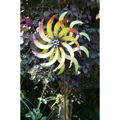 72 in. Metal Windmill Garden Stake