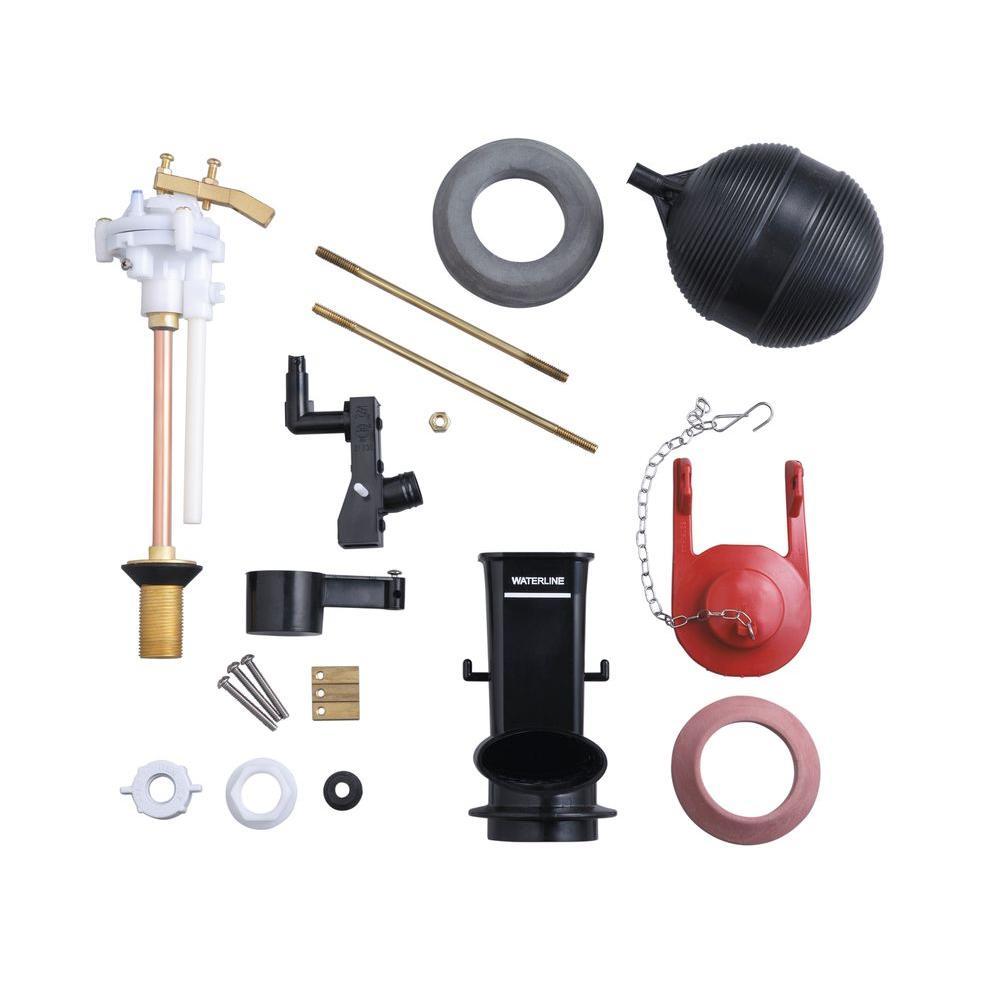Kohler 1b1x Fill Valve Kit For Older Toilets Ball Cock